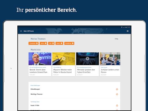 ZDFheute - Nachrichten 2.9 screenshots 10