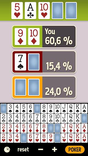 Poker Odds Calculator - FREE