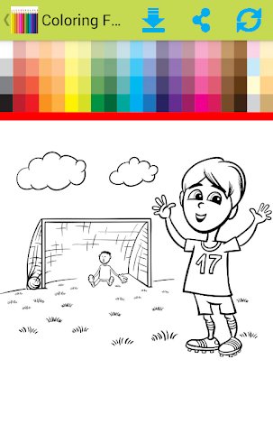 android Coloring For Children Screenshot 2