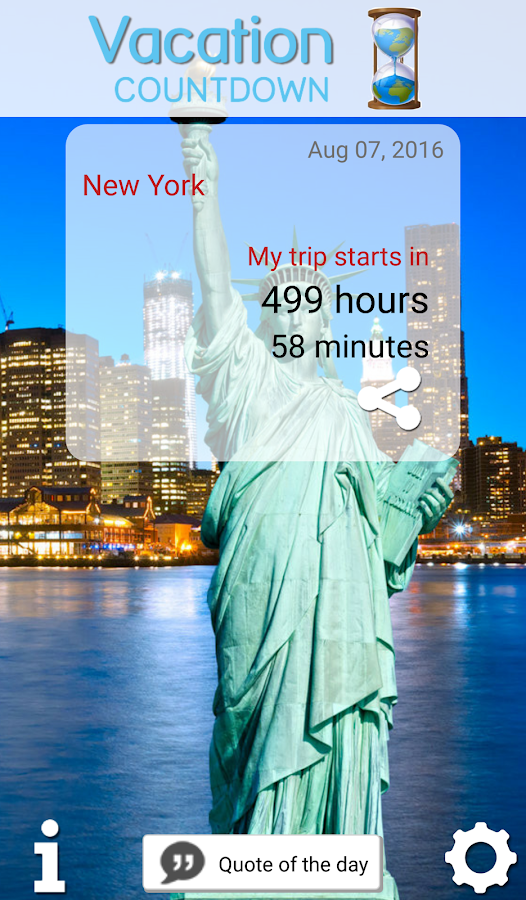 Vacation Countdown 2016 - Android Apps on Google Play