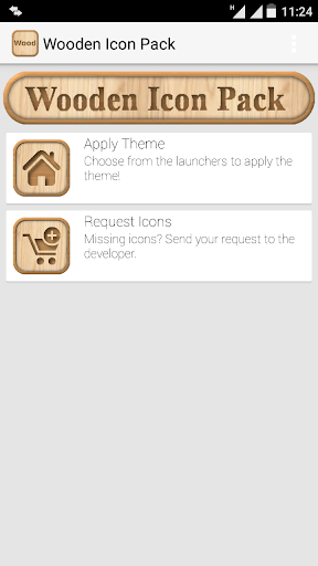 Wooden Icon Pack