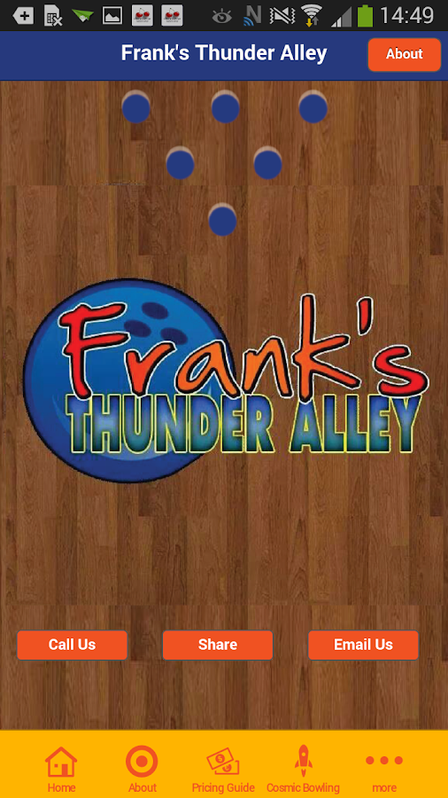 Frank's Thunder Alley- screenshot