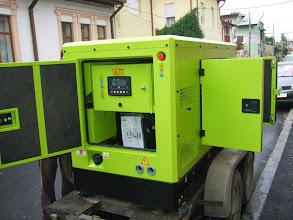 Photo: Generator Perkins 66 kva, Lafarge, Medgidia