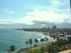 Photo: #009-Salvador de Bahia. Le Pestana Bahia. La vue de la chambre