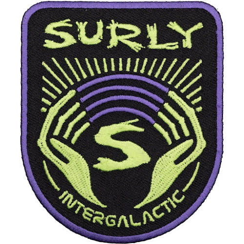 Surly Intergalactic Patch: Black/Purple/Green