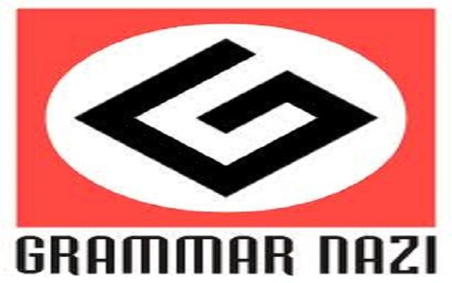 Grammar-Nazi Sniper