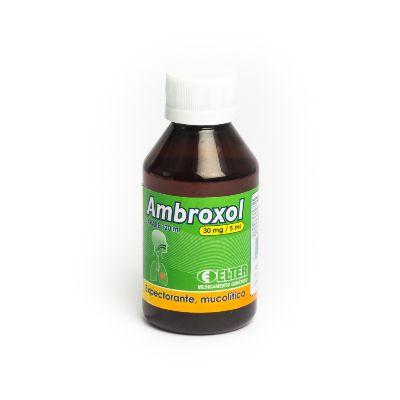 Ambroxol Elter Jarabe 30 Mg X120ml