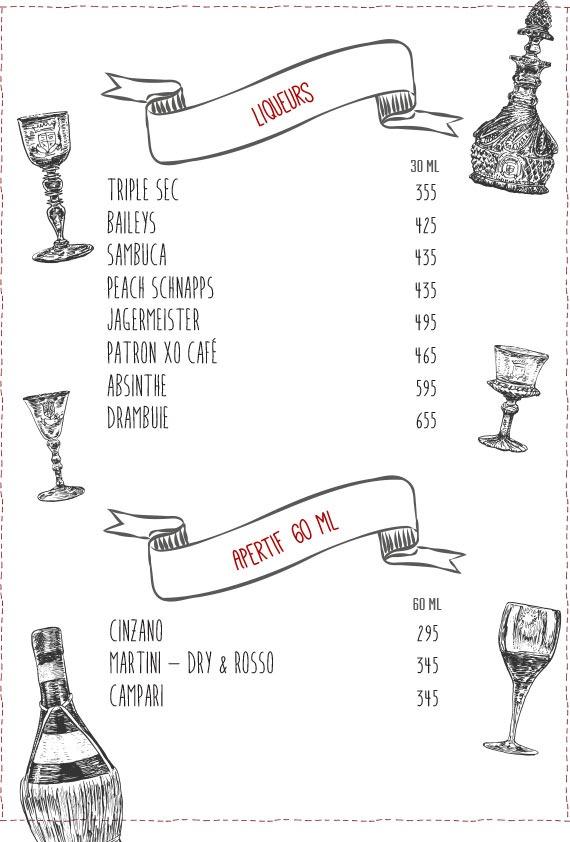 Warehouse Cafe menu 15
