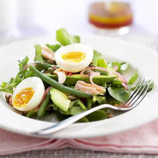 Smoked Salmon and Egg Salad.
