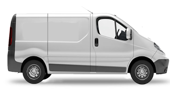 Large Courier Van
