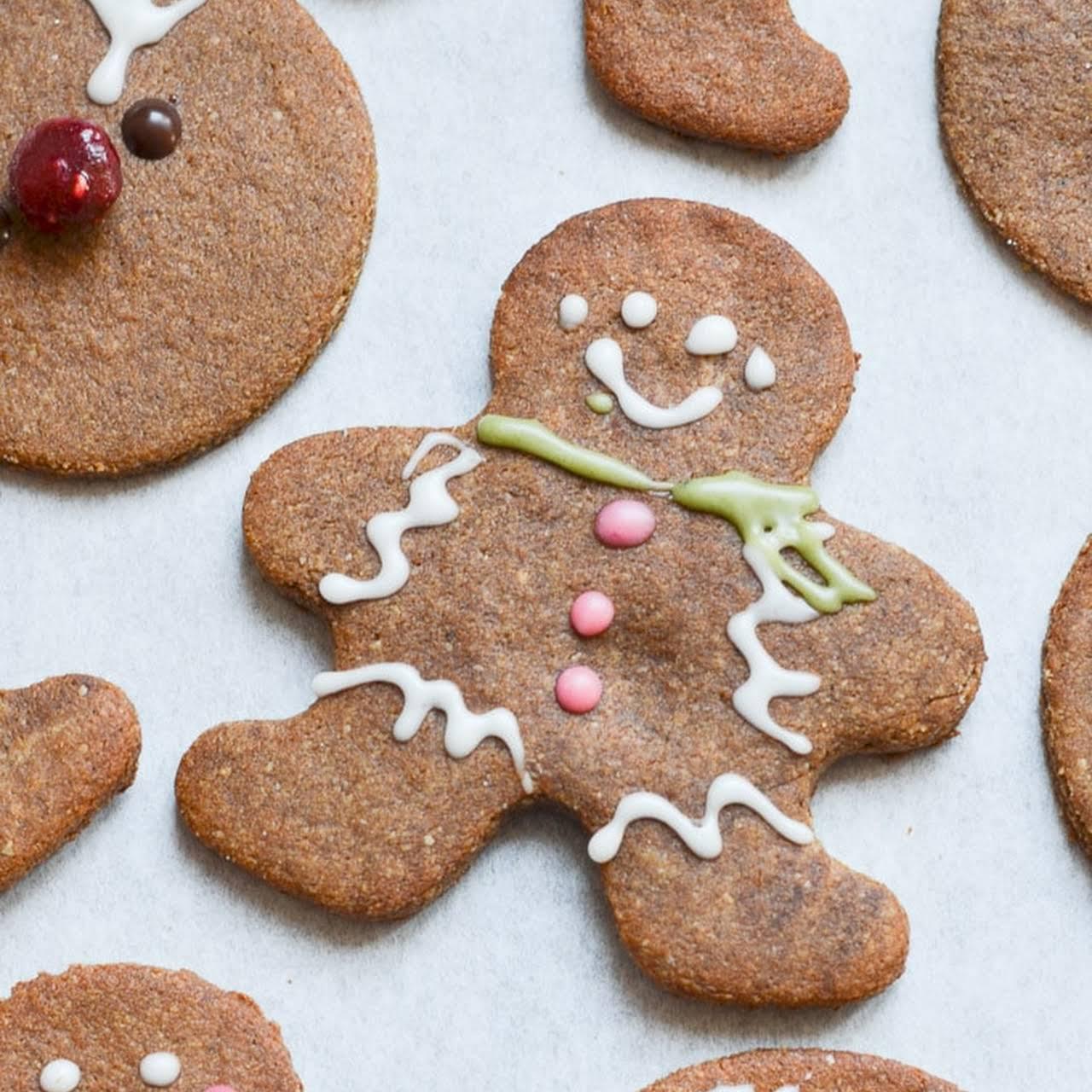 Easy Vegan Gingerbread Cookies!