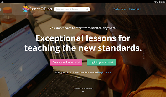 LearnZillion- screenshot thumbnail