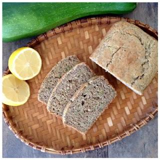Gluten Free Lemon Zucchini Loaf