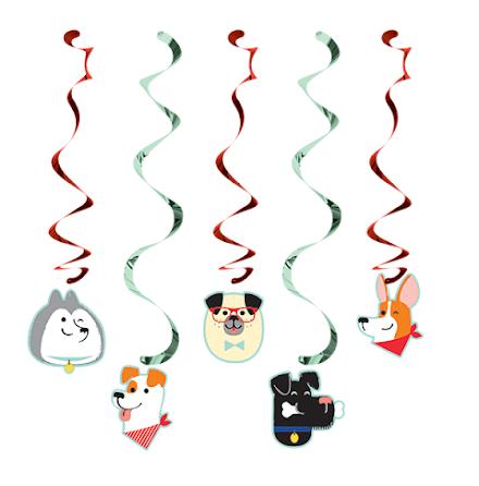 Takdekorationer - Dog party