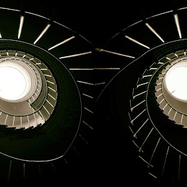 Owl Stairs by Tomislav Zebic - Buildings & Architecture Architectural Detail
