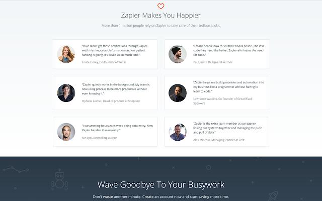 Zapier - G Suite Marketplace