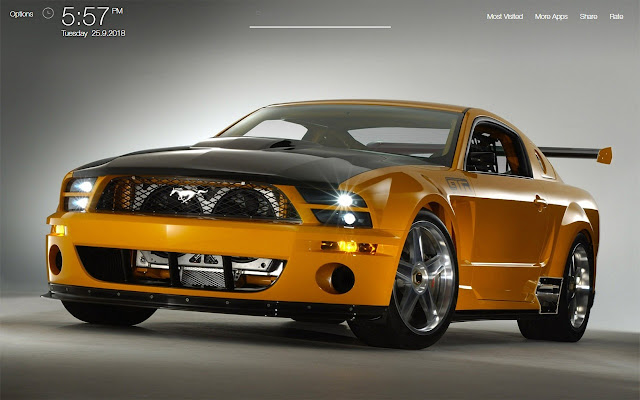 Ford Mustang GT Wallpapers FullHD New Tab