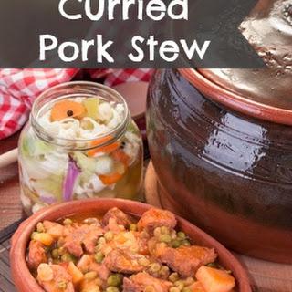 Crockpot Curried Pork Stew.