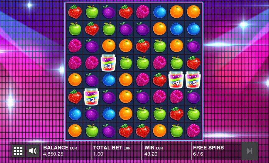 Đánh giá chi tiết game Jammin Jars bởi Push Gaming