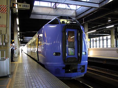 JR北海道 261系「宗谷」_02 札幌駅にて_02