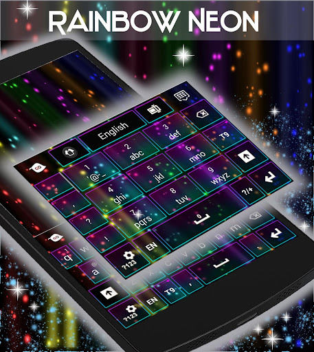 玩個人化App|彩虹霓虹键盘免費|APP試玩