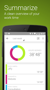 Jiffy - Time tracker- screenshot thumbnail