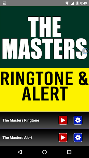 The Masters Theme Ringtone