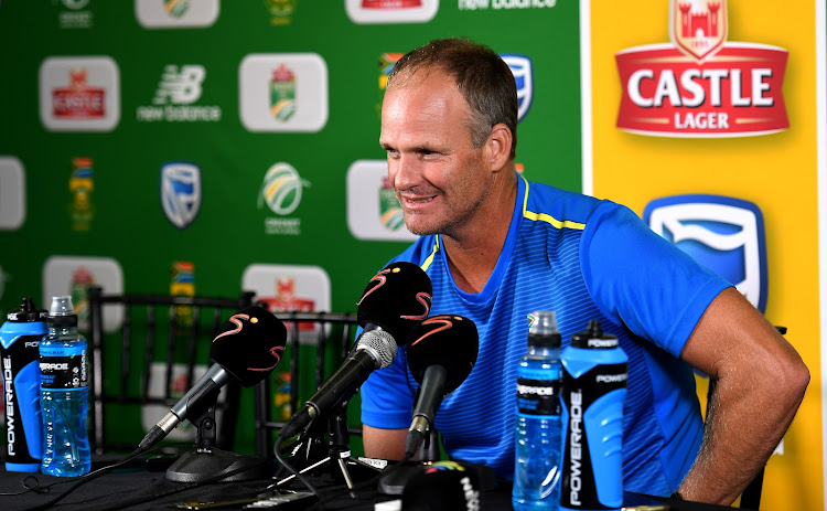 Dale Benkenstein (Proteas batting coach) during day 2 of the 2nd Castle Lager Test match between South Africa and Sri Lanka at St George's Park on February 22, 2019 in Port Elizabeth, South Africa.