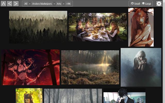 Bookmark Image Browser