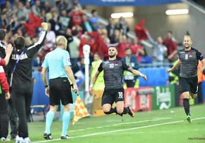 Albanië scoort eerste doelpunt ooit op EK en mag dromen van achtste finales