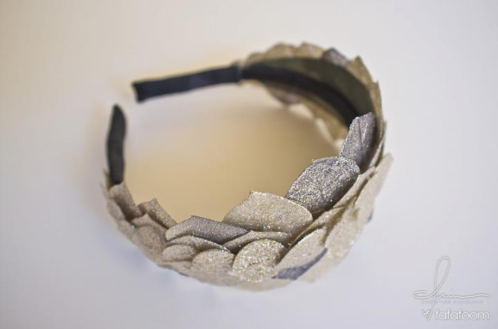 Agnes headband - DIY Fashion Accessories | fafafoom.com