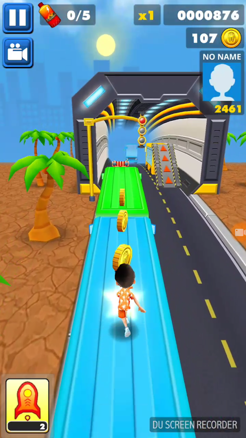 SuPer Subway Surf Dash 3D- screenshot