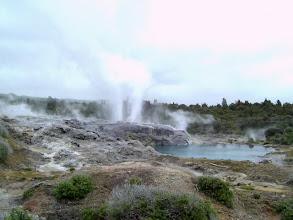 Photo: a geyser