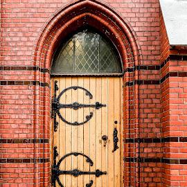 Side Door by Richard Michael Lingo - Buildings & Architecture Architectural Detail ( door, norway, detail, building, architecture,  )