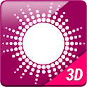 Pink Equalizer Music Live WP icon