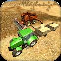 Farm Harvesting Cargo Tractor icon