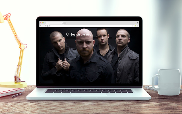 Christian Rock New Tab Music Theme