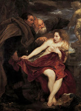 Photo: Anthony van Dyck, Susanna and the Elders, C.A. 1622-23