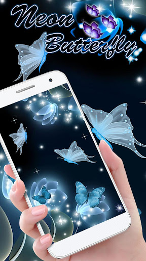 Download Neon Butterfly Live Wallpaper Google Play Softwares