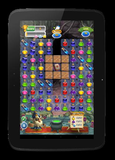 Magic Blender - Magic Potions - Match 3 apktram screenshots 16