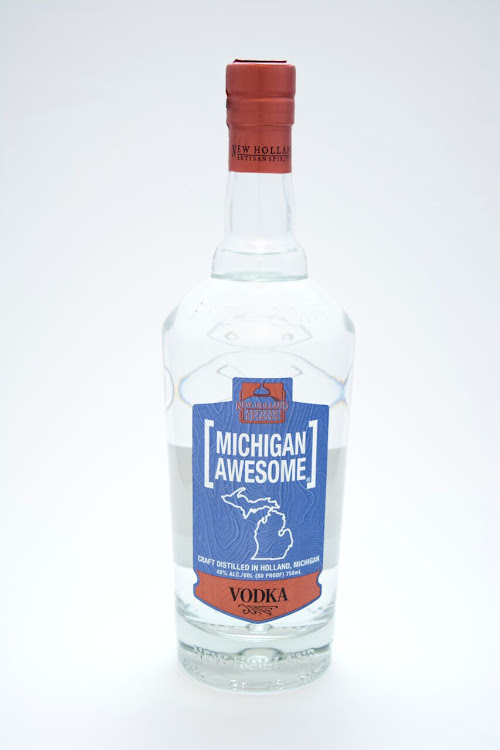 Logo for Michigan Awesome Vodka