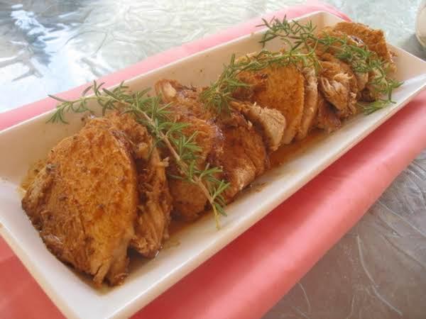 Flavors Of Autumn Barbecue Pork -delicious!