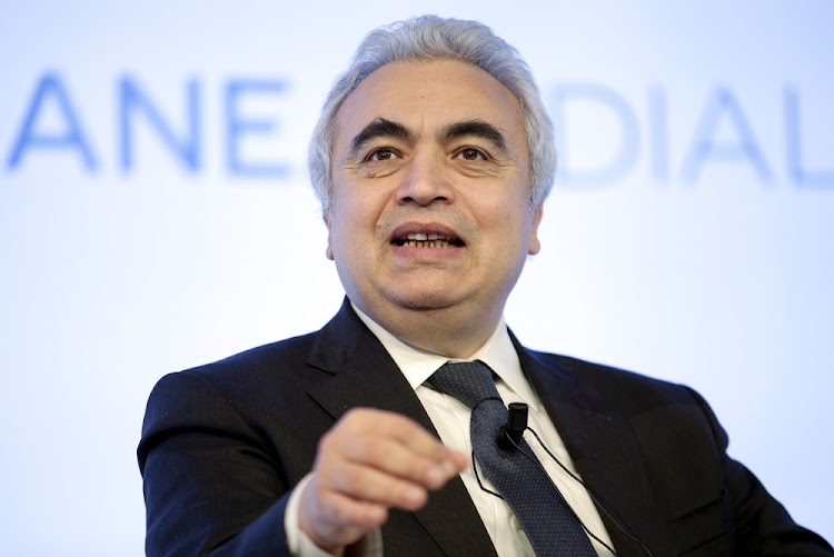 International Energy Agency executive director Fatih Birol.  Picture: REUTERS/Max Rossi