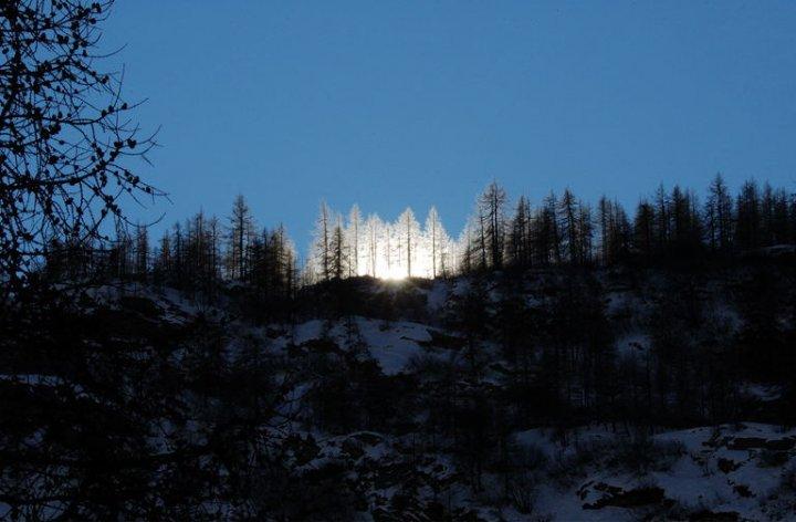 Tramonto in montagna di Federico Faletto