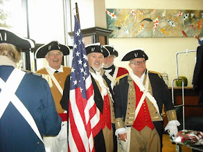 Photo: Combined Great Lakes District Color Guard