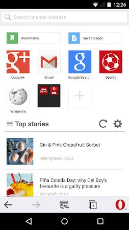 Opera Mini beta web browser 11.0.1912.94373 screenshot 6959