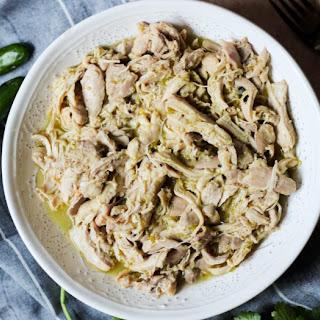 3-Ingredient Slow Cooker or Instant Pot Salsa Verde Chicken.