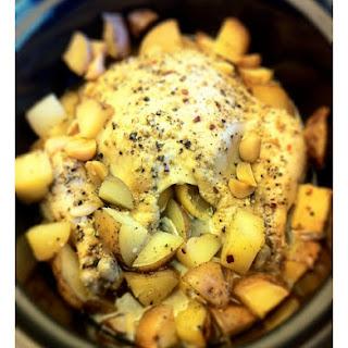 Slow Cooker Lemon Herb Chicken