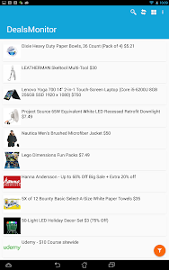 Deals Coupons Monitor screenshot 7