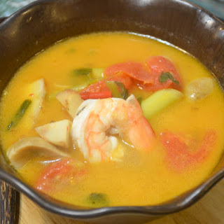 Tom Yum Soup.